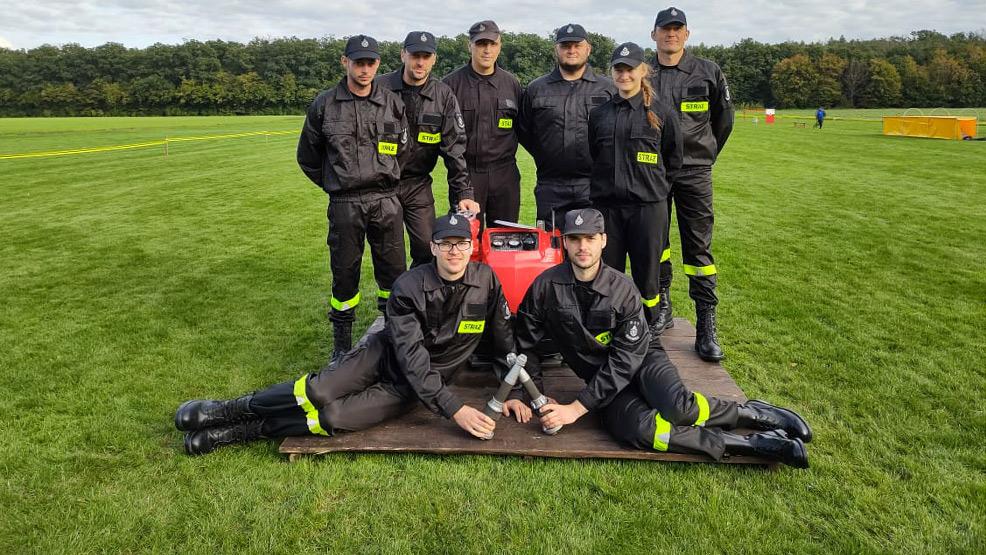 Strażacy z OSP  rywalizują tylko na zawodach - Zdjęcie główne