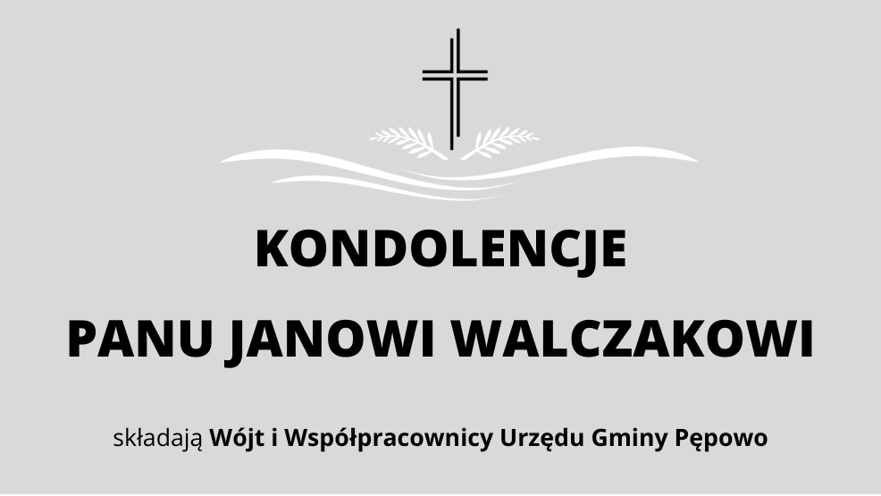 Kondolencje dla Pana Jana Walczaka - Zdjęcie główne