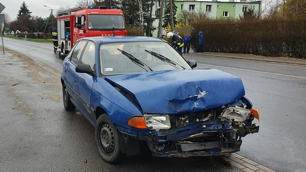 Niefortunne zderzenie w Karolewie [AKTUALIZACJA] - Zdjęcie główne