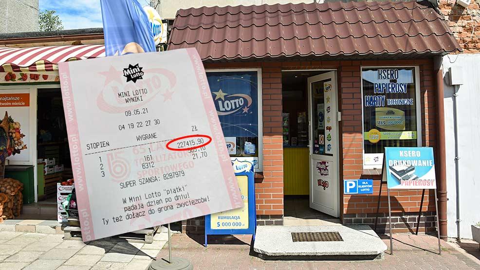 W gostyńskiej kolekturze Lotto padł zwycięski kupon - Zdjęcie główne