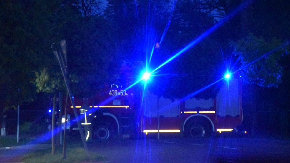 Osiemnastolatek uderzył skuterem w drzewo. Kierowca jest w szpitalu. A gdzie pojazd? - Zdjęcie główne