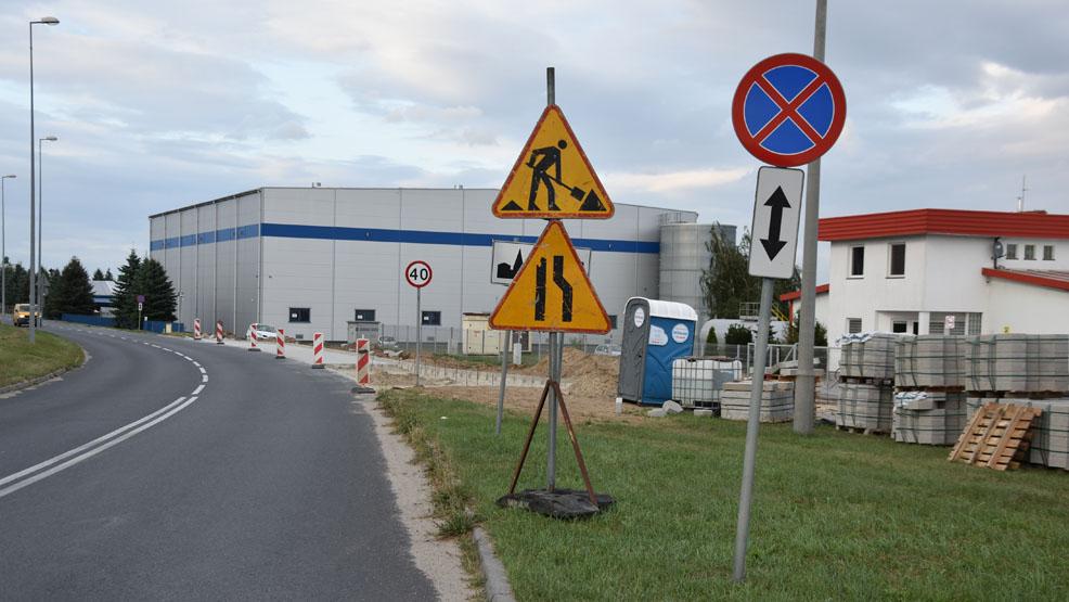 Koniec przebudowy skrzyżowania w Czachorowie już niedługo. Uwaga na zmianę organizacji ruchu na strefie przemysłowej! - Zdjęcie główne