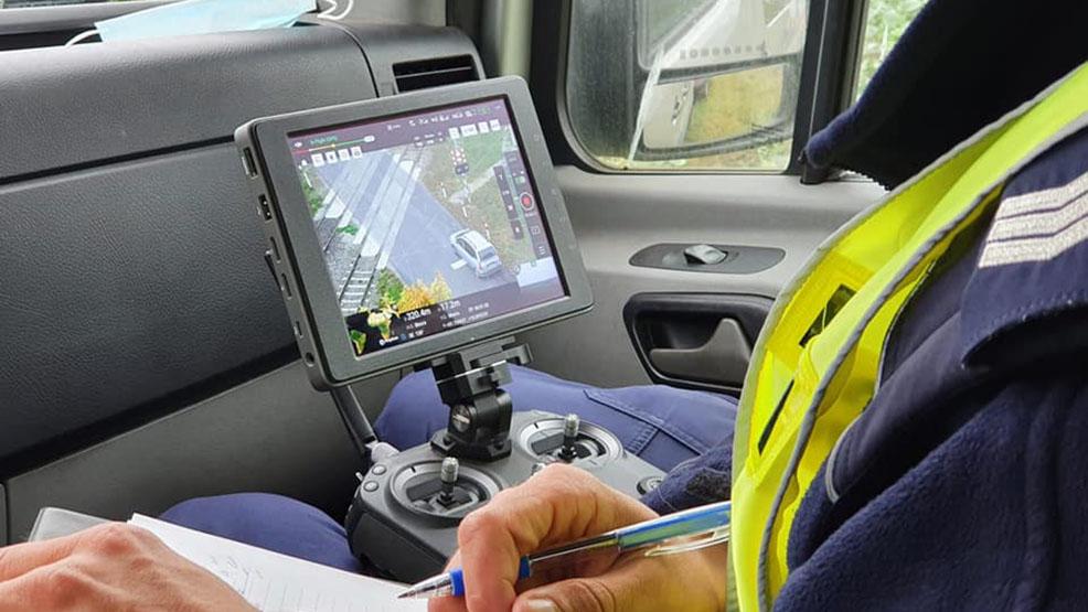 Gostyńska policja pracuje z dronem.  Takie urządzenie daje większe możliwości - Zdjęcie główne