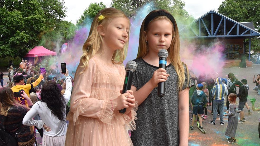 Kolorowa gala Piosenki Przedszkolnej w Gostyniu wypadła śpiewająco. Pogoda dopisała, frekwencja też - Zdjęcie główne