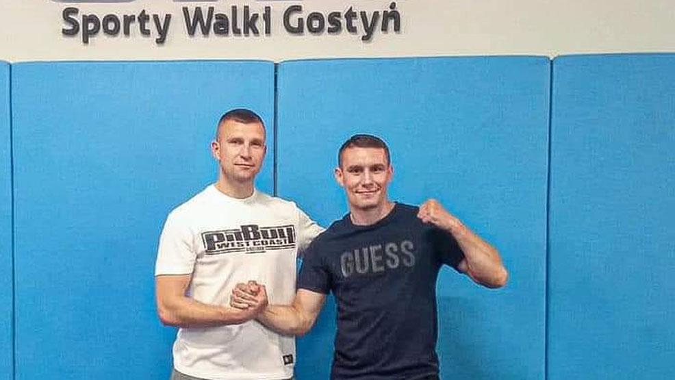Damian Wrzesiński trenuje w Gostyniu - Zdjęcie główne