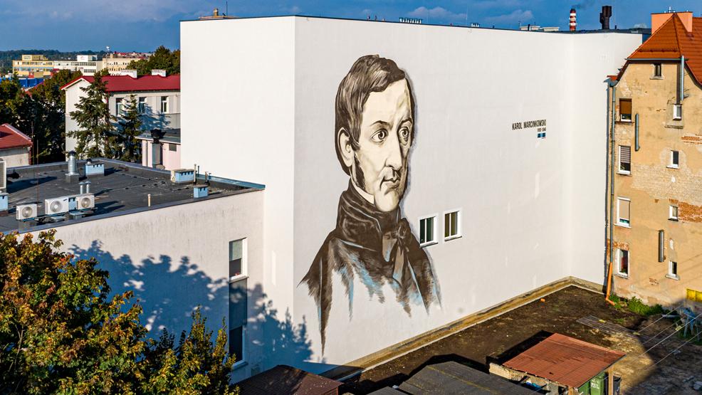 Zniknął jeden mural w Gostyniu. Majstersztyk. Wiecie który? Czas na wycieczkę po mieście  - Zdjęcie główne