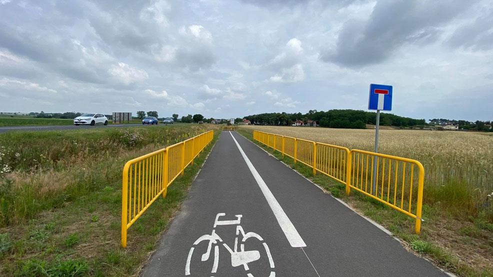 Dokończą ścieżkę rowerową z Gostynia do Kunowa. Rowerzyści i piesi mogą się cieszyć - Zdjęcie główne
