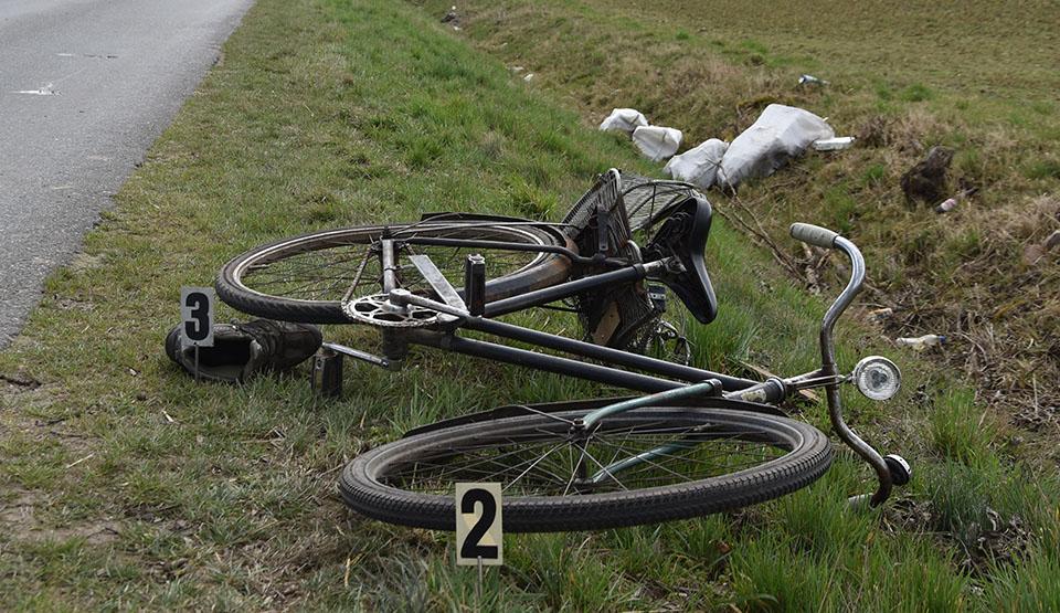 Potrącenie rowerzysty w Borku Wlkp. Ile stracił sprawca? - Zdjęcie główne
