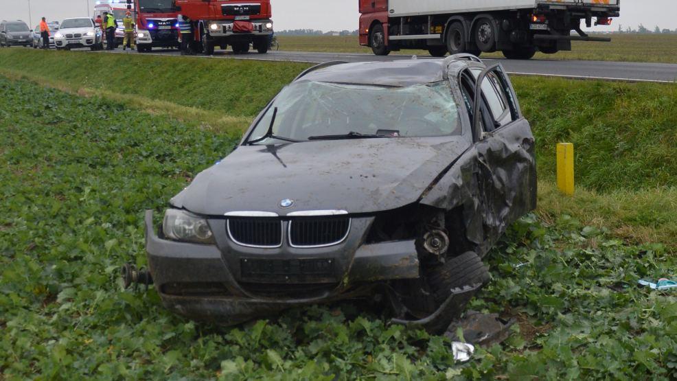 Gdy doszło do zdarzenia obydwa pojazdy poruszały się DK12 - Zdjęcie główne