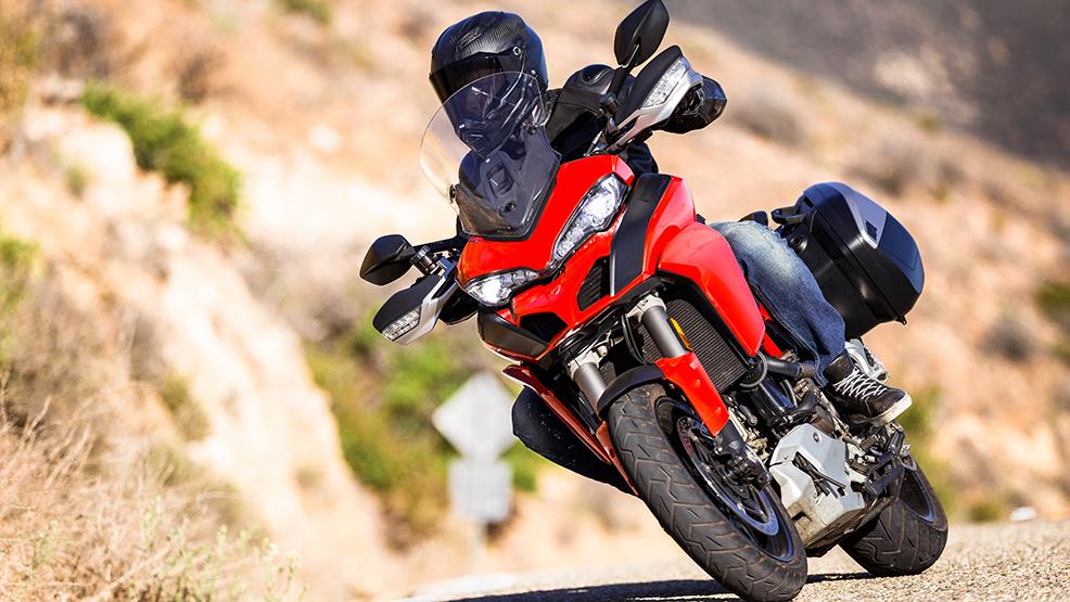 Przyłapany, kiedy pędził na motocyklu - Zdjęcie główne