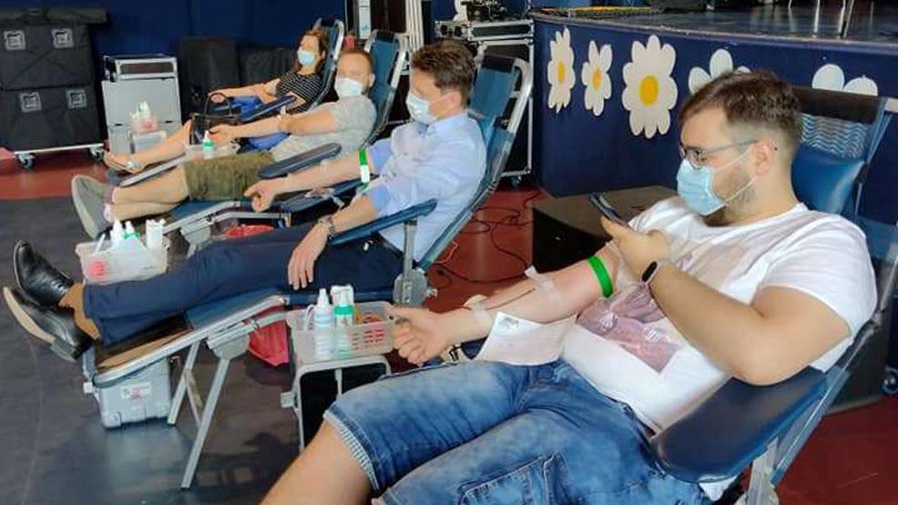 Oddawali krew litrami - Zdjęcie główne