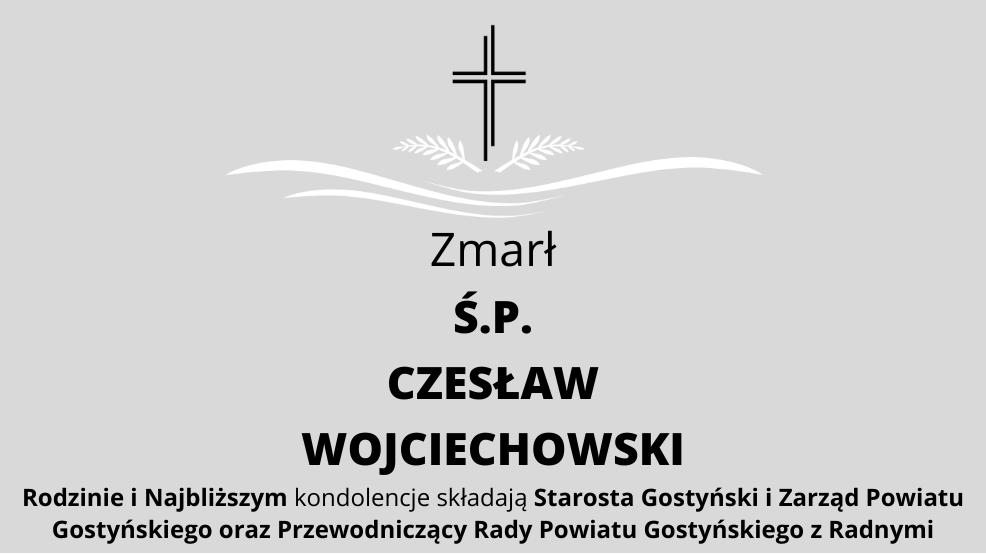 Zmarł Ś.P. Czesław Wojciechowski - Zdjęcie główne