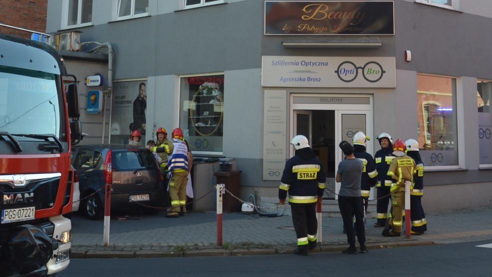Prawdopodobny wyciek gazu w kamienicy w Gostyniu. Policja i straż zamknęły całą ulicę  - Zdjęcie główne