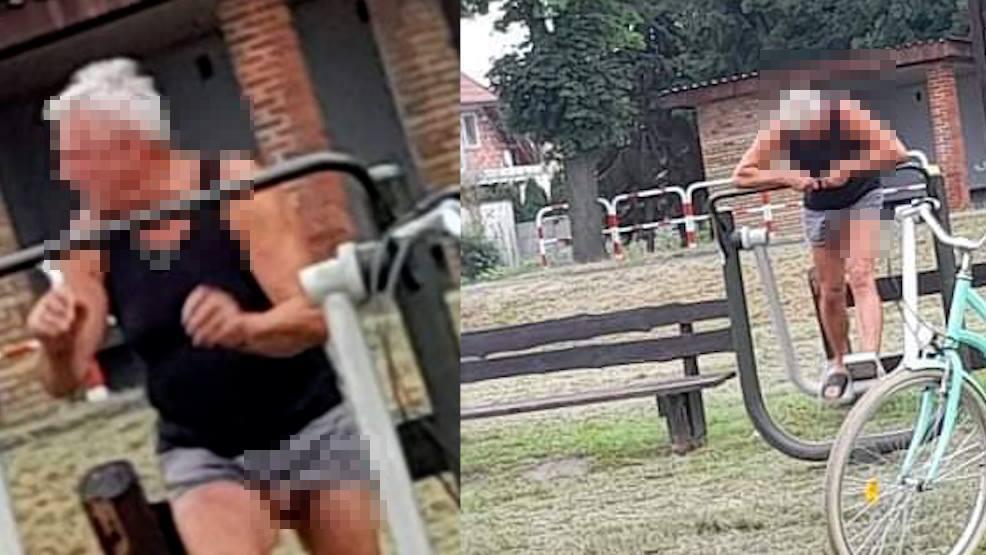 Mężczyzna na placu zabaw z penisem na wierzchu. Sprawę wyjaśnia policja - Zdjęcie główne
