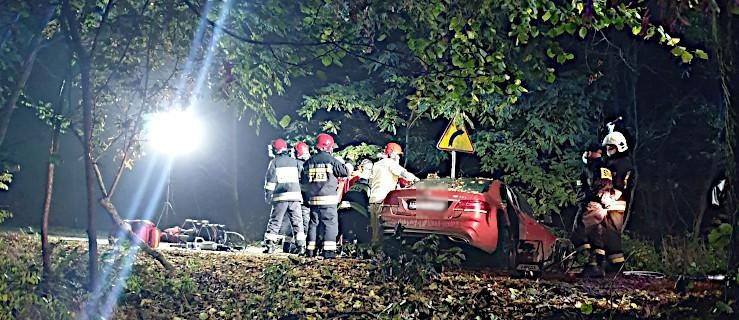 Kierujący mercedesem uderzył w drzewo. Mężczyzna zginął na miejscu [ZDJĘCIA] - Zdjęcie główne