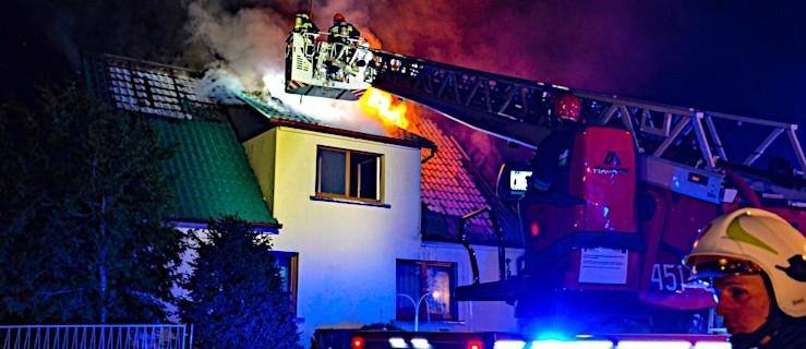Groźny pożar wybuchł w środku nocy [ZDJĘCIA] - Zdjęcie główne