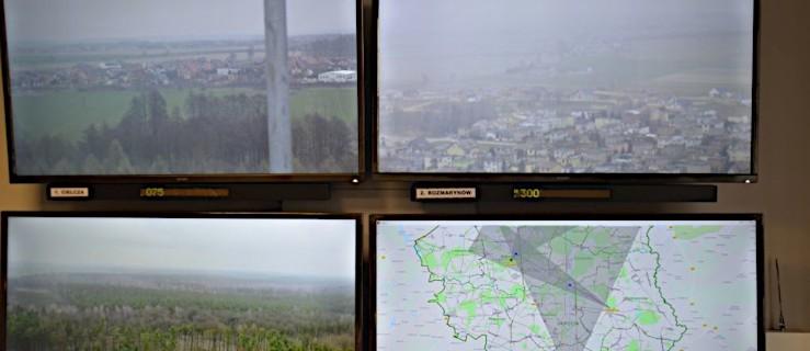 Kamery wypatrują pożarów w lasach  - Zdjęcie główne
