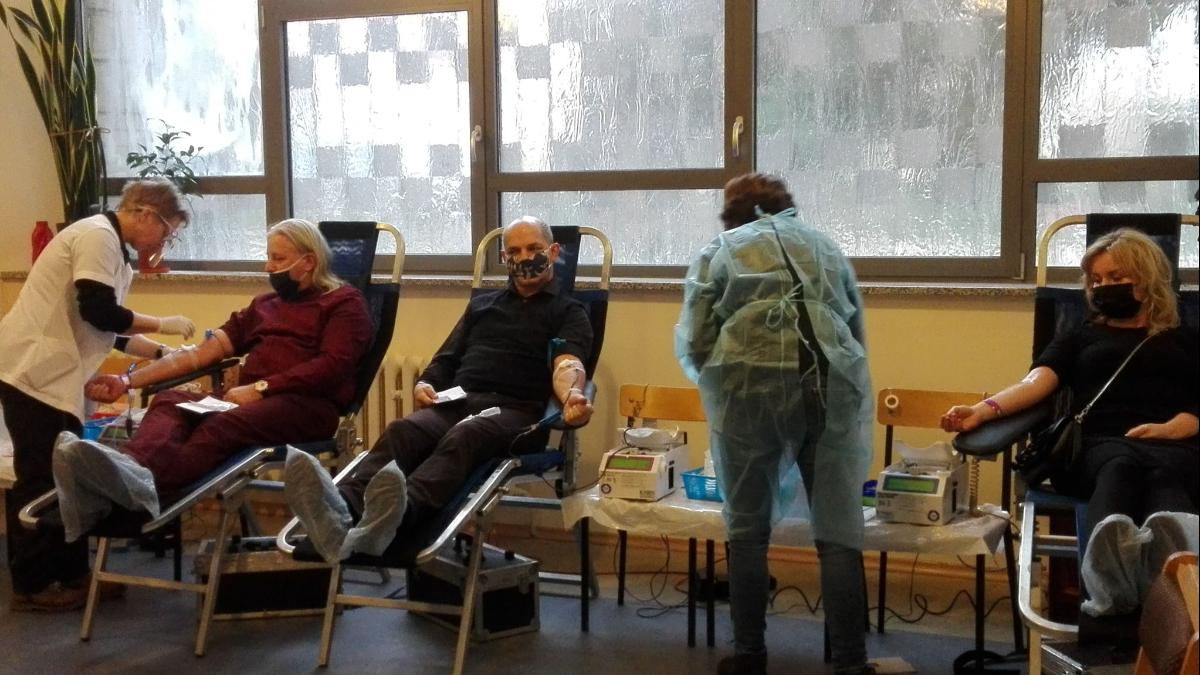 Akcja dla krwiodawców w Chrzanie  - Zdjęcie główne