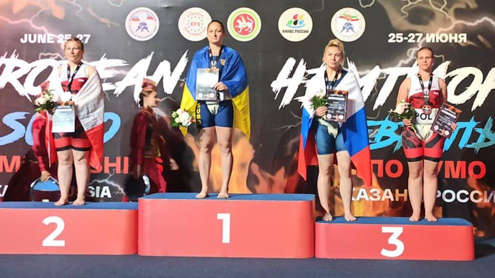 Aleksandra Grygiel brązową medalistką Mistrzostw Europy w sumo - Zdjęcie główne