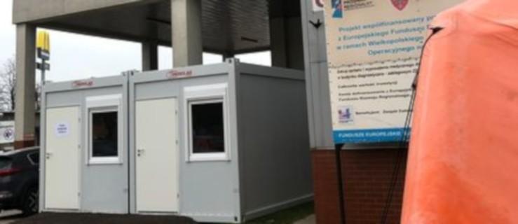Szpital w Jarocinie. Testy na obecność koronawirusa w nowym miejscu - Zdjęcie główne