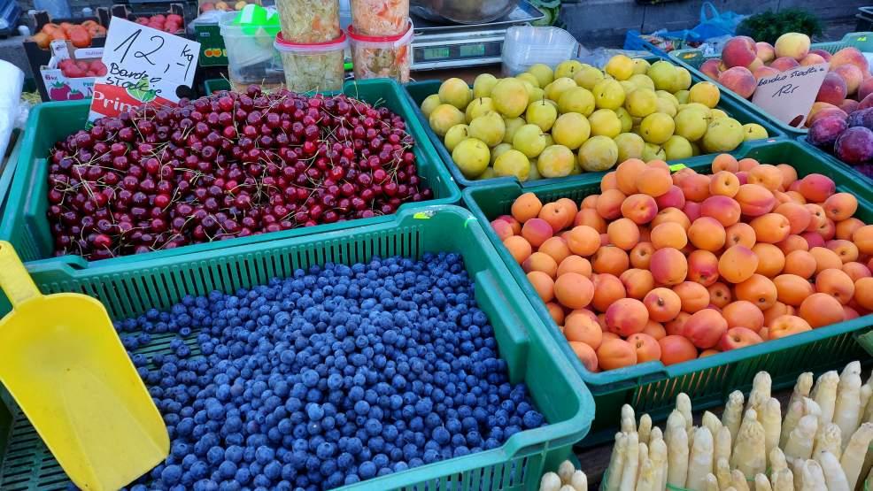 Ile zapłacimy za owoce i warzywa na jarocińskim targowisku [ZOBACZ NASZ RAPORT] [ZDJĘCIA] - Zdjęcie główne