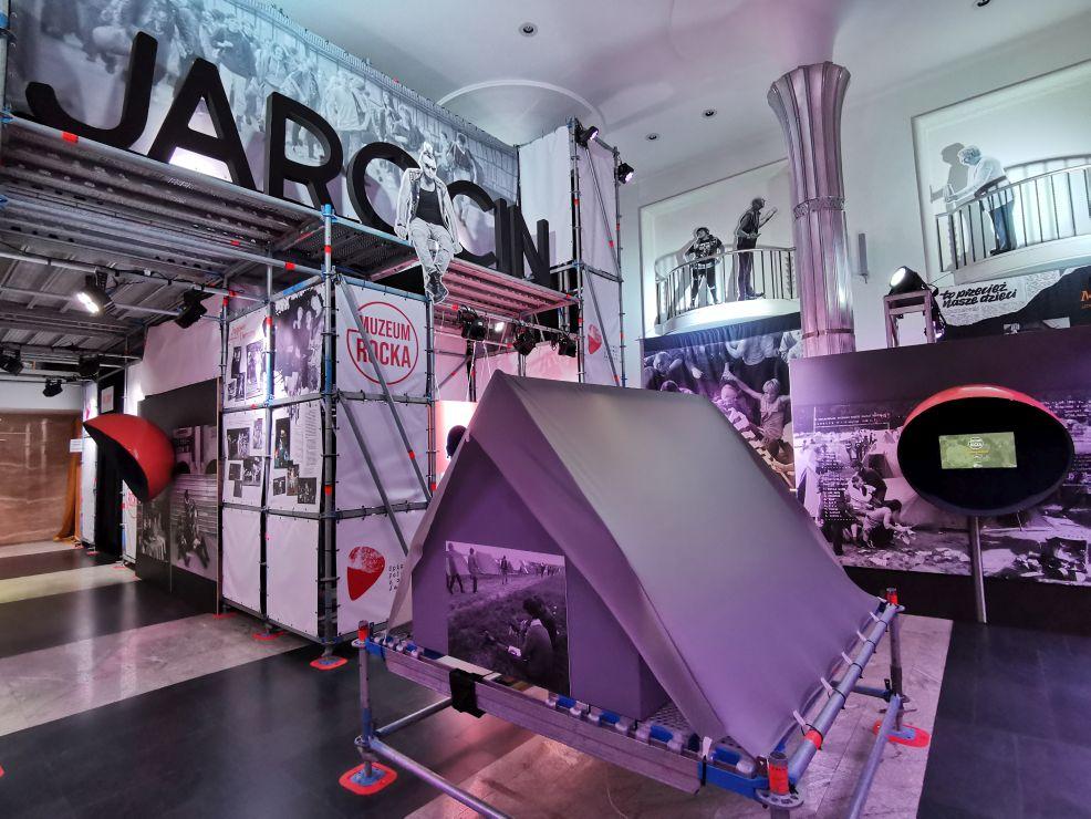 Jarocin - Stacja Wolność! Wystawa w Warszawie. Jarocin był dla Polski tym, czym dla Ameryki Woodstock  - Zdjęcie główne
