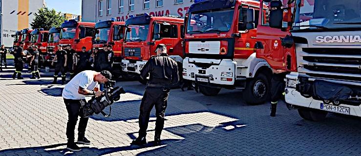 Jarocińscy strażacy jadą do Szwecji pomagać gasić pożary lasów - Zdjęcie główne