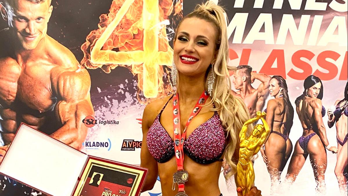 Patrycja Kaźmierczak - wschodząca gwiazda Bikini Fitness - Zdjęcie główne