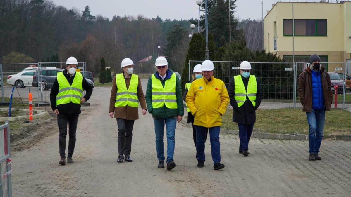 PWiK Jarocin. Co zagraniczna delegacja robiła na oczyszczalni w Cielczy? - Zdjęcie główne