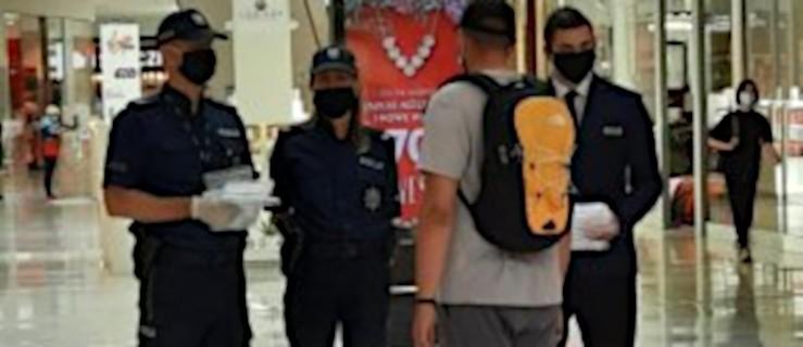 Zakupy w reżimie sanitarnym. Policjanci wyruszą do galerii handlowych - Zdjęcie główne