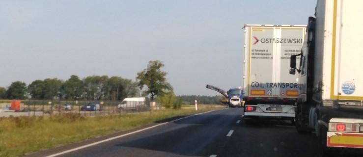 Remont na drodze krajowej. Ruch wahadłowy i korki   - Zdjęcie główne