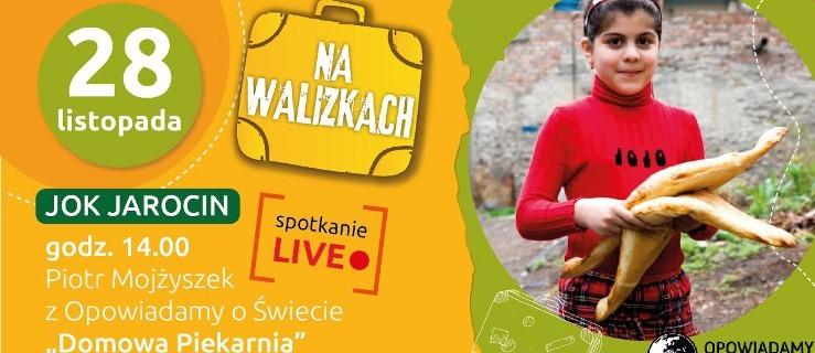 Na walizkach. Warsztaty pieczenia chleba na II Festiwalu Podróżniczym w sobotę - Zdjęcie główne