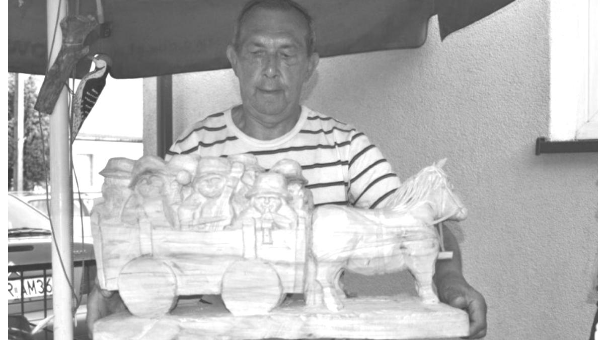 Nie żyje Bogdan Osuch, rzeźbiarz ludowy z Jarocina - Zdjęcie główne