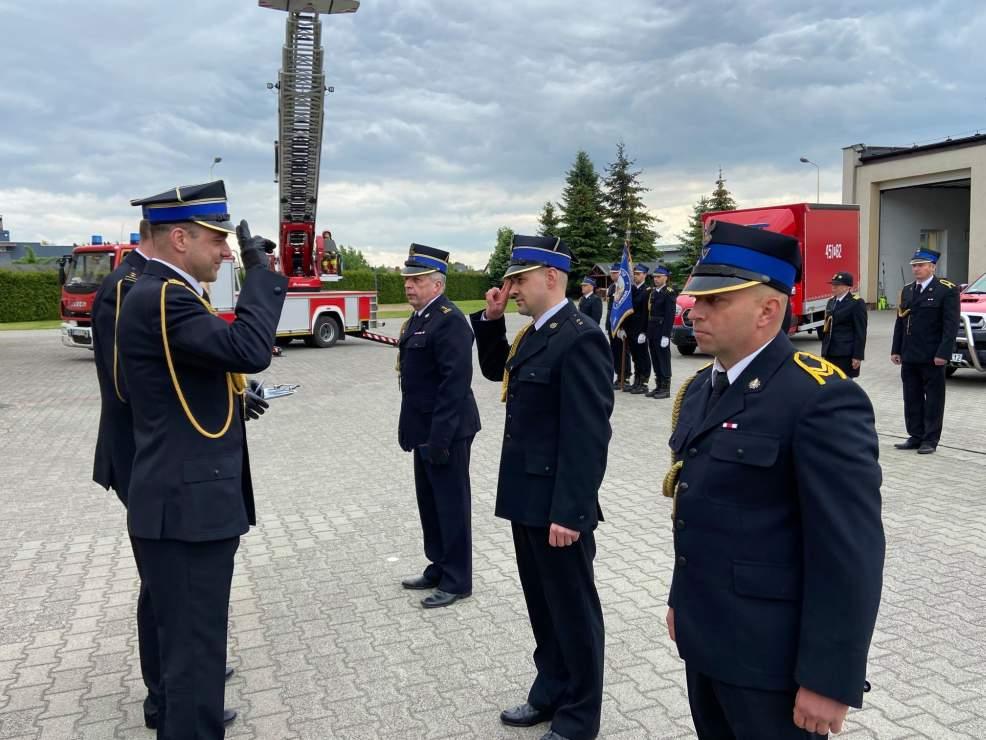 Minister odznaczył komendantów jarocińskiej straży pożarnej [ZDJĘCIA] - Zdjęcie główne