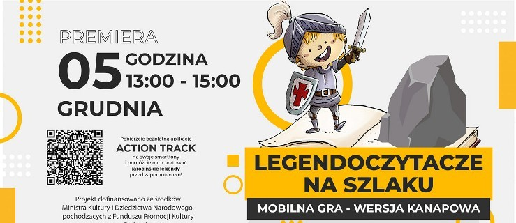 Dzisiaj premiera mobilnej gry z jarocińskimi legendami. Zagraj z Jacentym. Nagrody za punkty - Zdjęcie główne