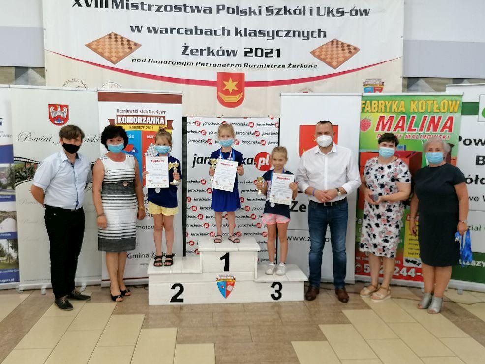 XVIII Mistrzostwa Polski szkół i UKS-ów w warcabach klasycznych w Żerkowie - Zdjęcie główne