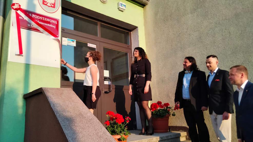 Wielkie widowisko w Golinie. Szkoła uczciła Helenę Moszczeńską w wyjątkowy sposób - Zdjęcie główne