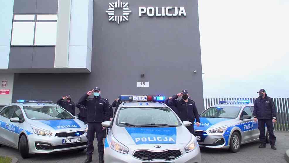 Jarocińscy policjanci żegnają zastrzelonego kolegę asp. Michała Kędzierskiego [WIDEO, ZDJĘCIA]  - Zdjęcie główne