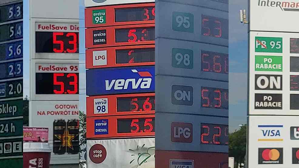 Ceny paliw w Jarocinie? Ile trzeba zapłacić na stacjach za benzynę, olej napędowy i gaz? ZOBACZ RAPORT  - Zdjęcie główne