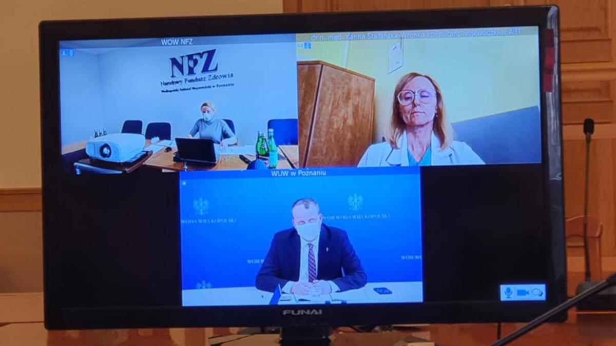 Konferencja z wojewodą. Tematem sytuacja covidowa i stan zabezpieczenia  - Zdjęcie główne