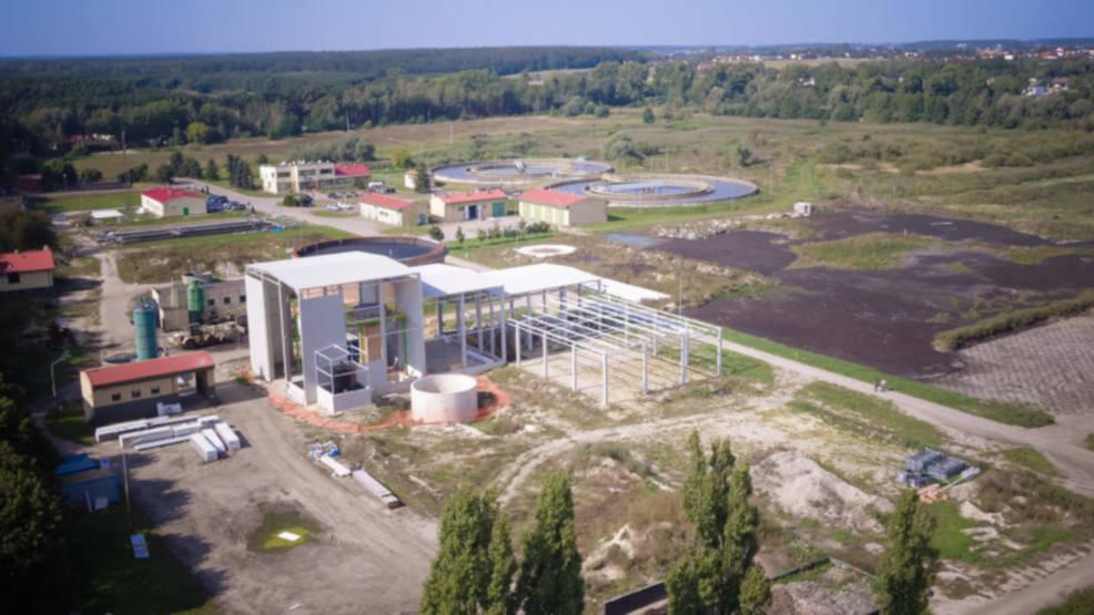 Modernizacja oczyszczalni ścieków w Cielczy przebiega zgodnie z planem   - Zdjęcie główne