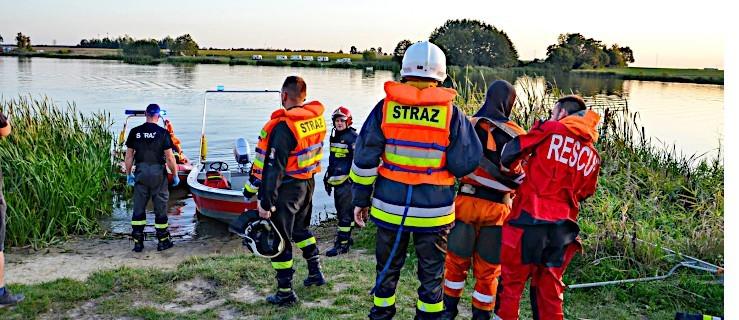 Nietrzeźwi wpadli do zalewu. Świadkowie chcieli ich ratować. Dramatyczna akcja w Roszkowie - Zdjęcie główne
