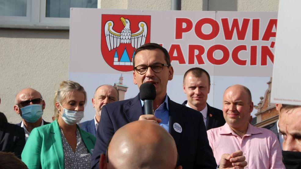 Jarocin. Minął rok od wizyty premiera Mateusza Morawieckiego. Przypominamy co się wtedy działo. - Zdjęcie główne