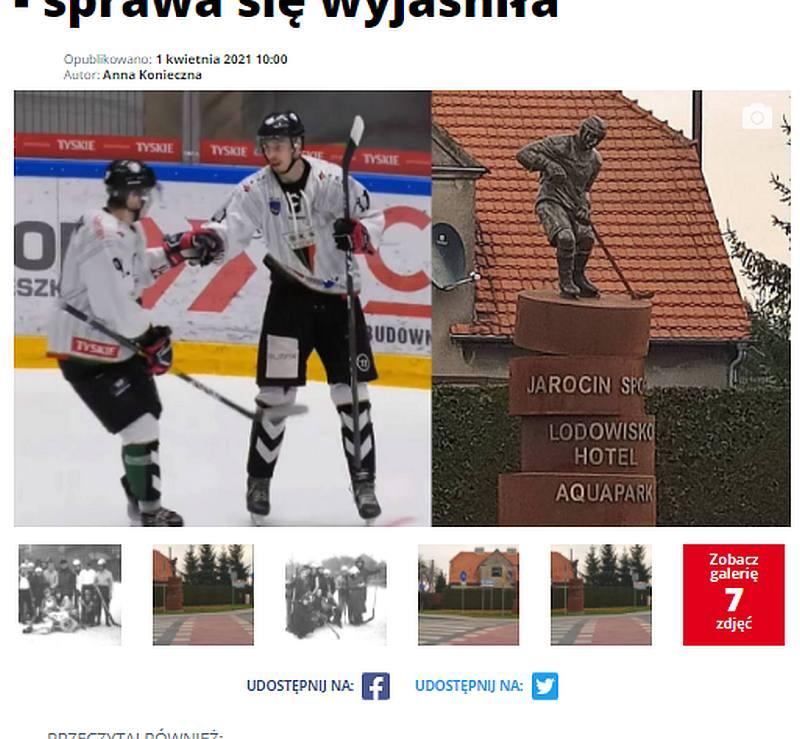 Klub hokejowy w Jarocinie? Może kiedyś, na razie to był tylko prima aprilisowy żart  - Zdjęcie główne