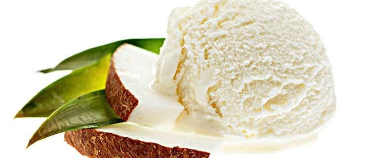 Lody bananowo-kokosowe - Zdjęcie główne