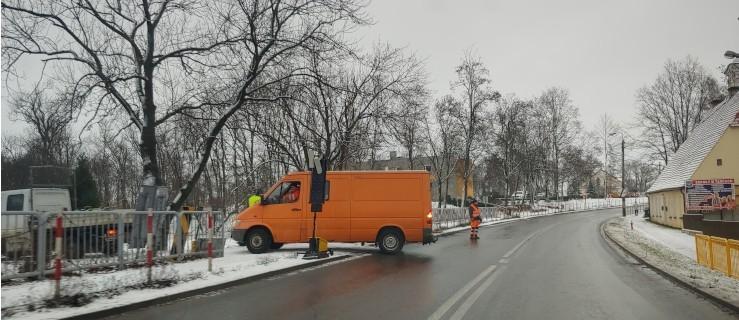 Rozpoczął się remont, ruch wahadłowy na drodze krajowej    - Zdjęcie główne