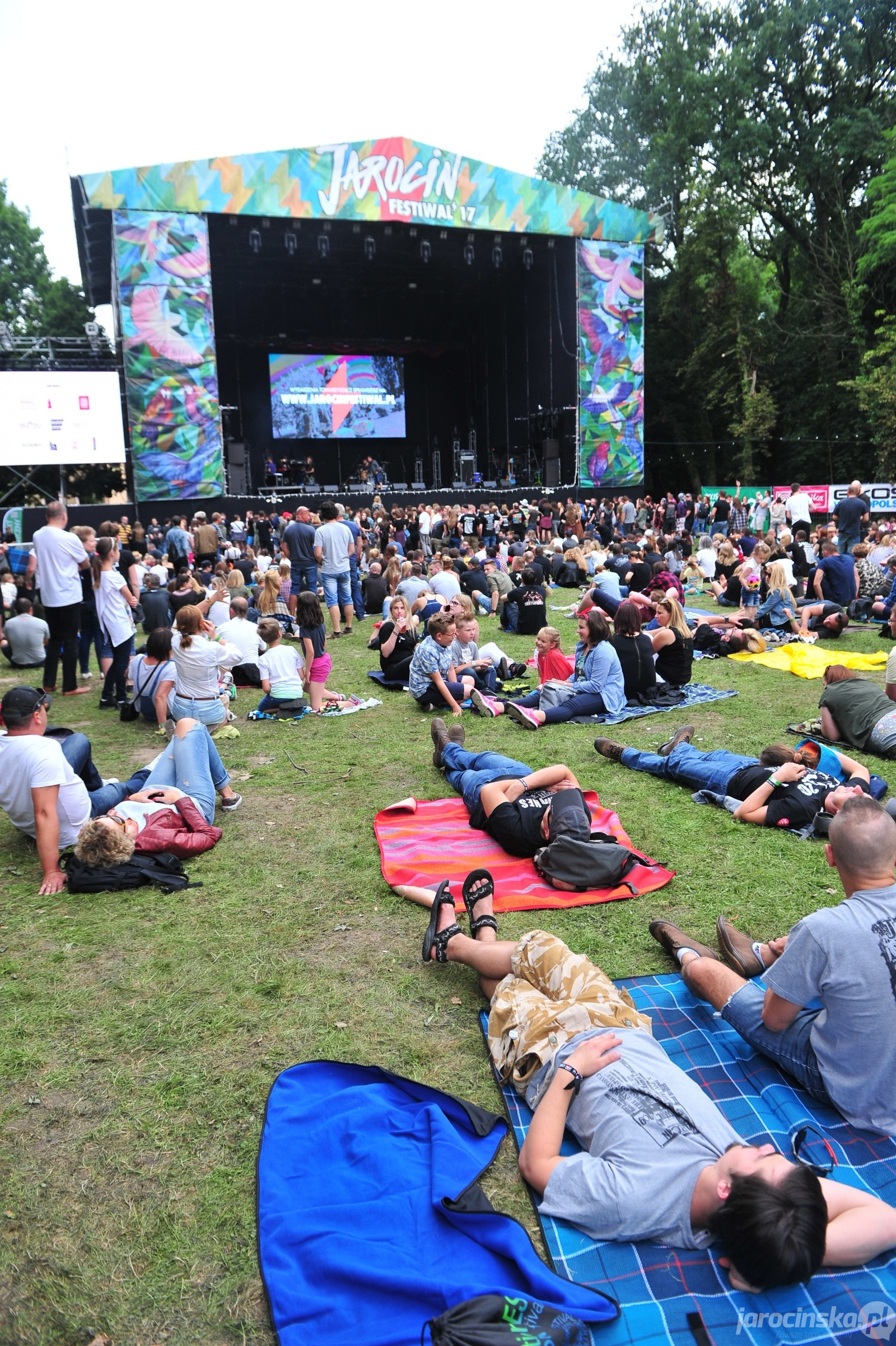Jarocin Festiwal 2017. Organek. Publiczność - Zdjęcie główne