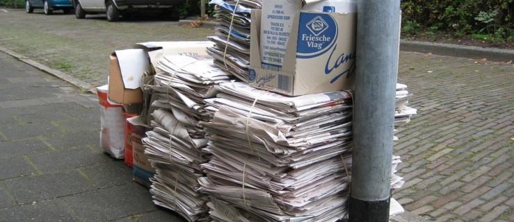 Nawet, jeśli nie zbierasz odpadów, złóż sprawozdanie   - Zdjęcie główne