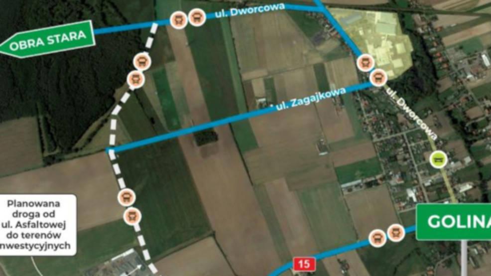 Łącznik do strefy w Golinie - ruszają konsultacje w sprawie budowy nowej drogi - Zdjęcie główne