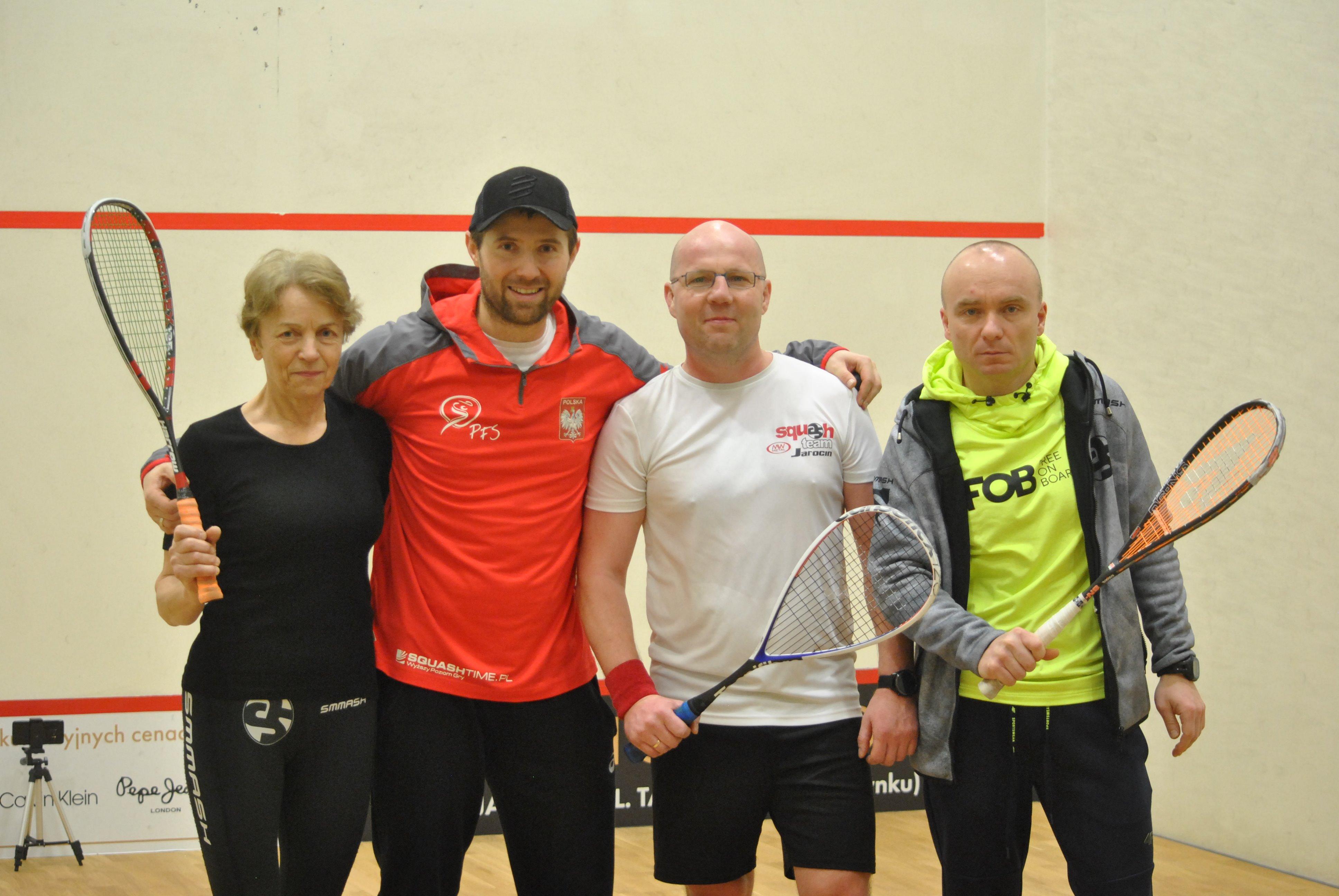 Mistrz Polski w squasha Przemysław Atras poprowadził treningi w Jarocinie - Zdjęcie główne
